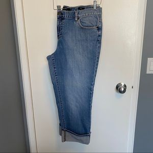 Calvin Klein | Cropped Jeans | Size 16